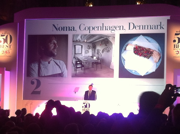 Noma, Best 50 restaurants, secondo posto