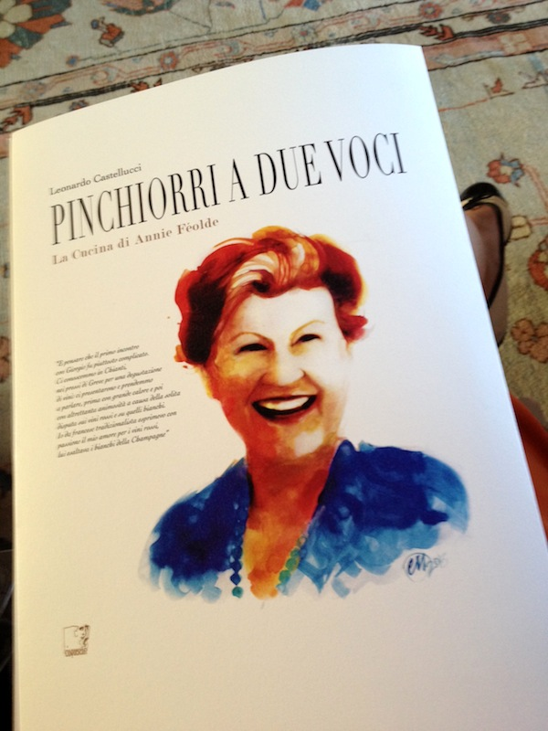 Pinchiorri a due voci, libro