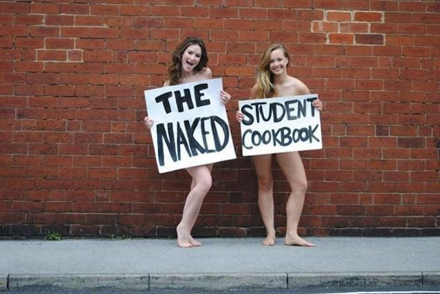 The naked student cookbook