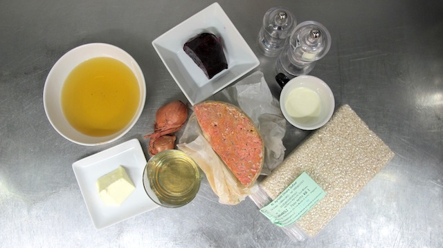 ingredienti, risotto blue cheese