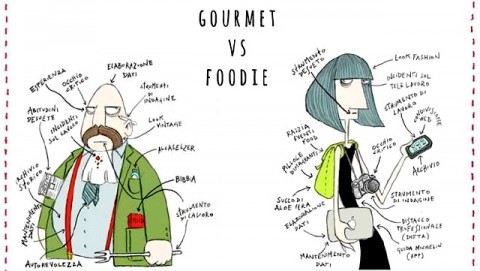 foodie vs. gourmet