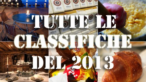 Classifiche Dissapore 2013