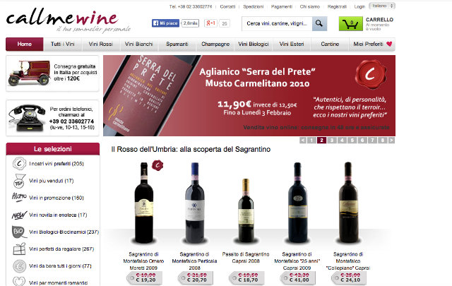 callmewine, vino, e-commerce