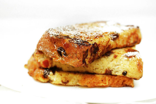 panettone e french toast