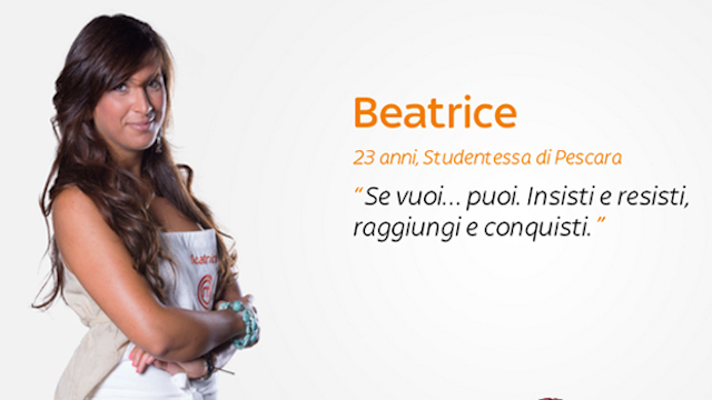 beatrice, masterchef 3