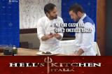 Carlo Cracco conduce Hell's Kitchen Italia
