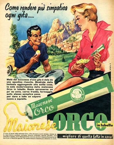 1955- MAIONESE ORCO
