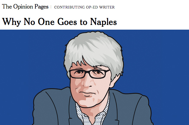 Beppe Severgnini, Napoli, New York Times