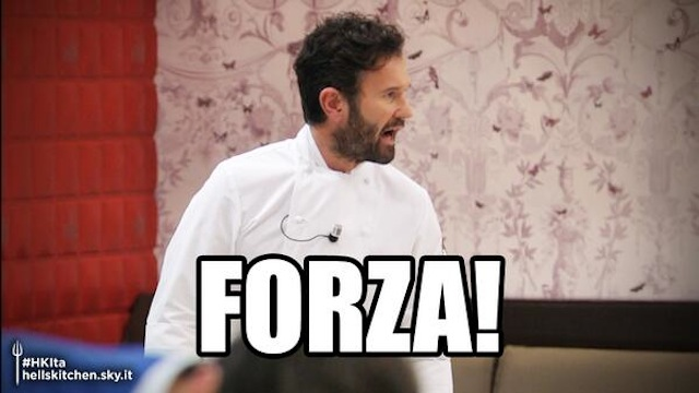Cracco - Hell's Kitchen Italia