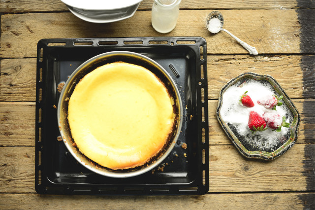 Topping, cheesecake