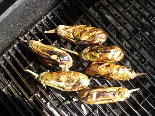 Barbecue - melanzane