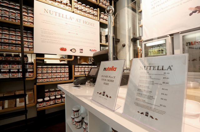 Eataly New York - Nutella Bar