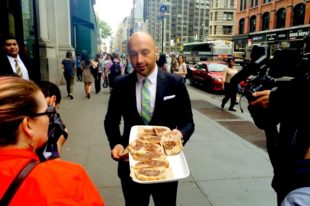 joe bastianich, nutella bar, eataly new york
