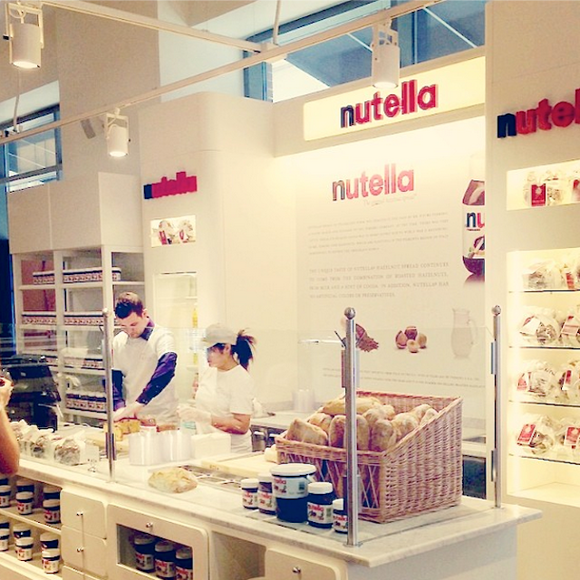 Nutella bar, eataly new york, apertura