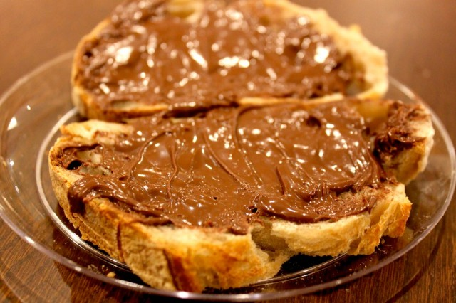 eataly New York - pane e nutella
