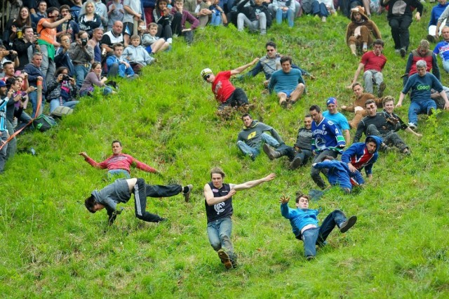 Cheese Rolling in Inghilterra