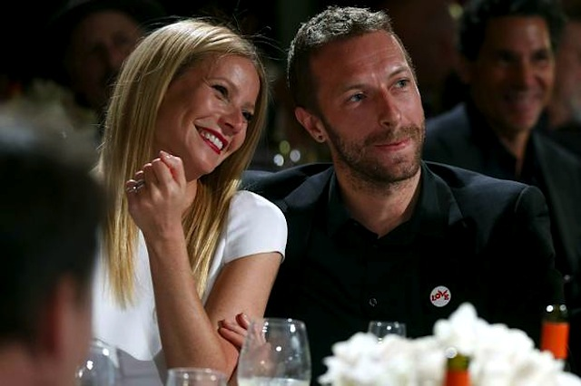 Gwyneth Paltrow e Chris Martin al ristorante