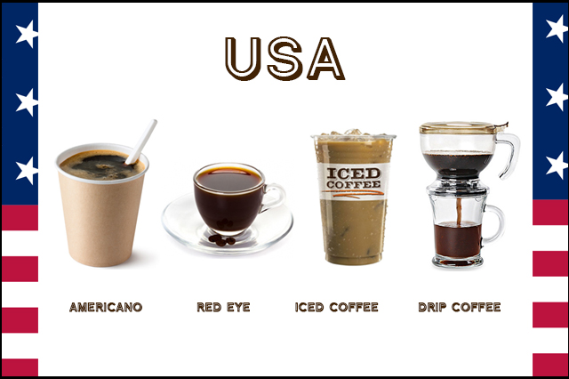 caffè, america, usa, iced coffee, red eye