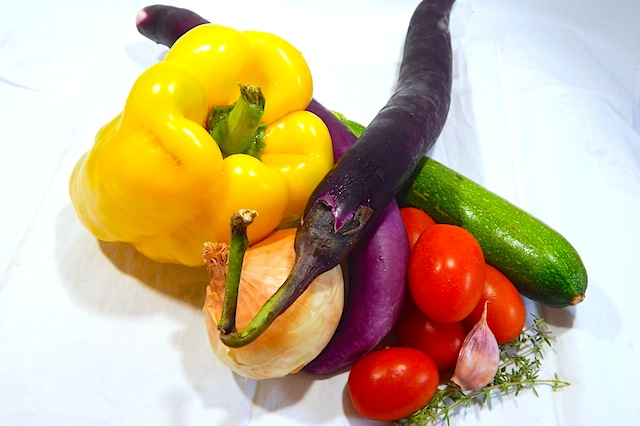 Ratatouille, ingredienti