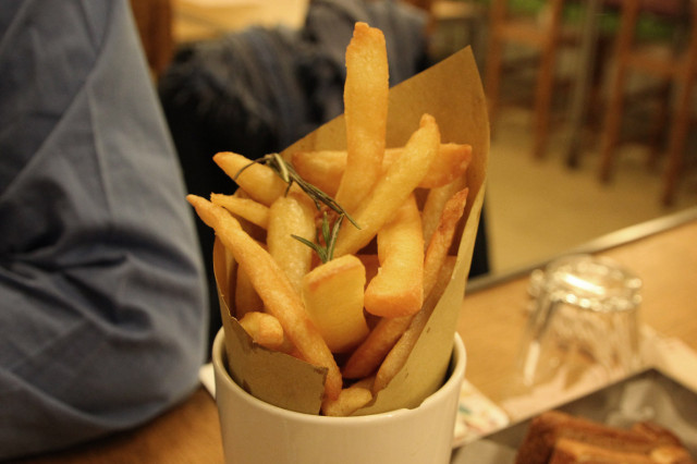 california bakery french Fries