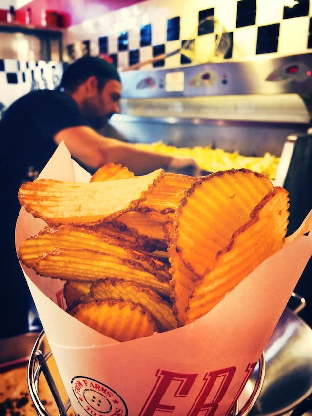 Patatine fritte chips di Fries