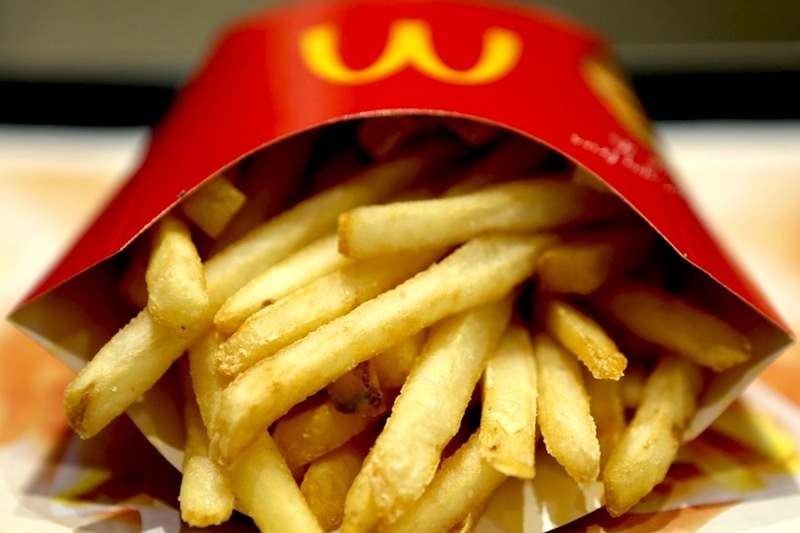 Patate fritte mcdonald's