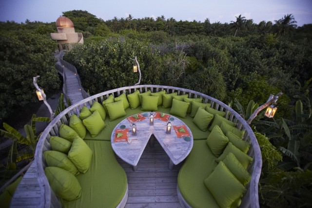 fresh in the garden, soneva, fushi resort, maldive