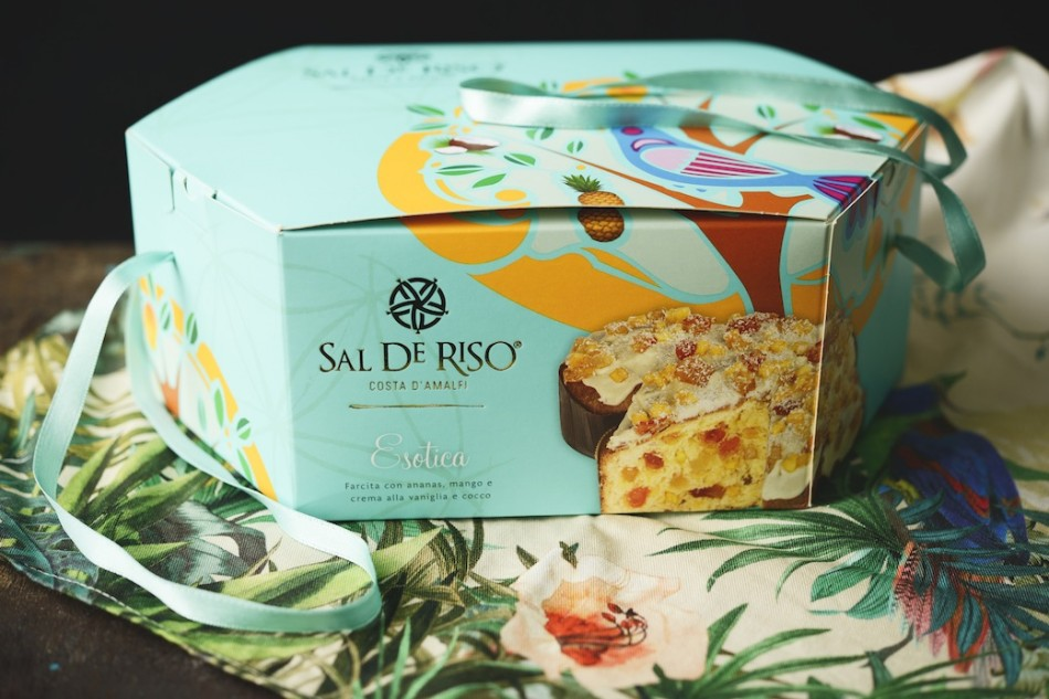 Colomba Sal De Riso, packaging