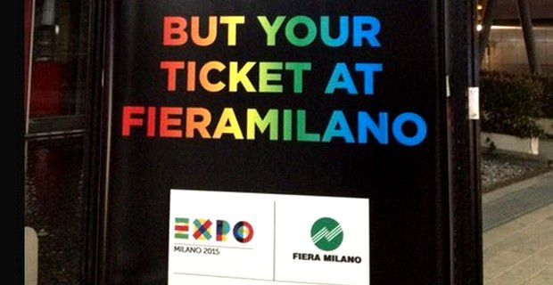 expo 2015 but your ticket