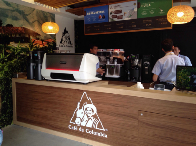 Expo 2015, Cafè Colombia