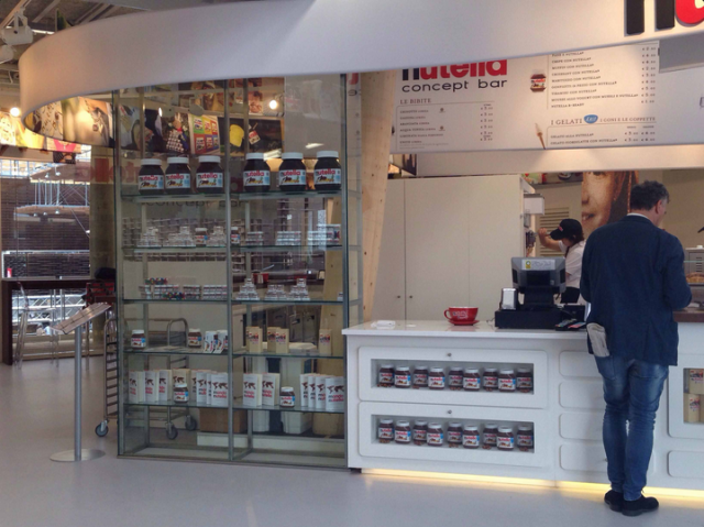 Expo 2015, nutella concept bar