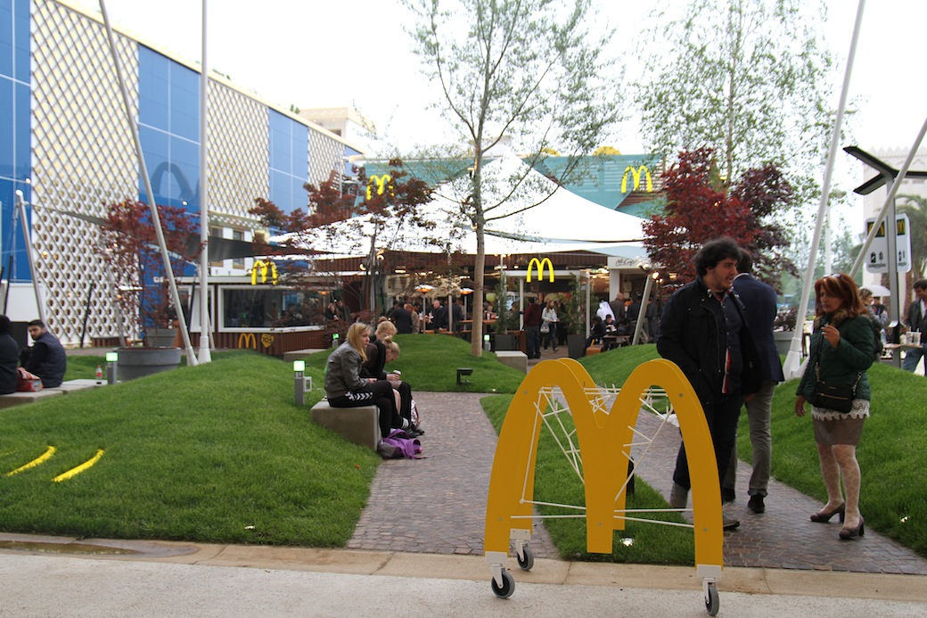Expo 2015, stand mcdonald's