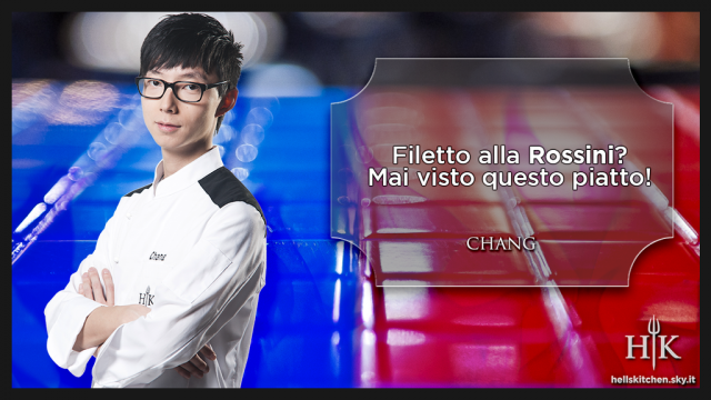 Hell's Kitchen Italia, Chang