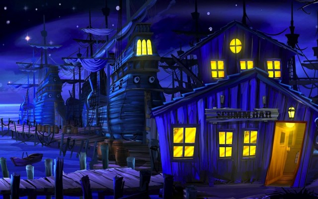 Scumm Bar, The secret of monkey island