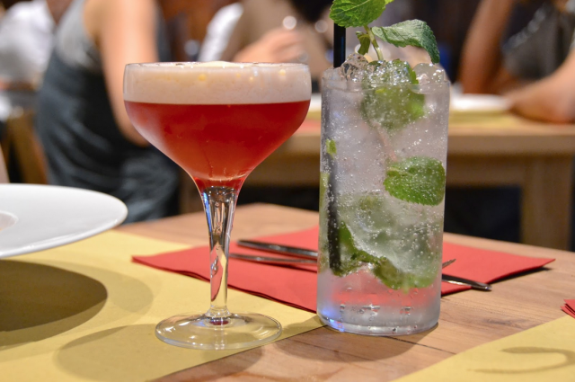 Rebelot del pont, Cocktail
