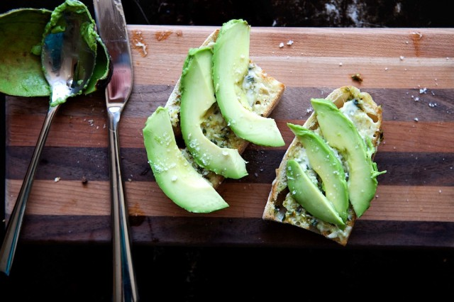 Toast all'avocado