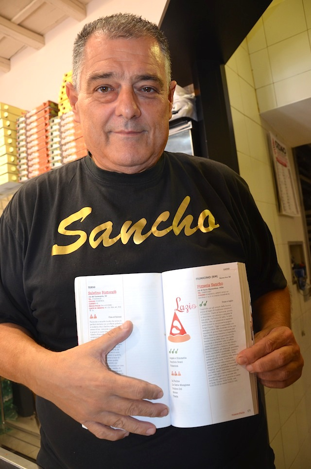 Sancho e le rotelle