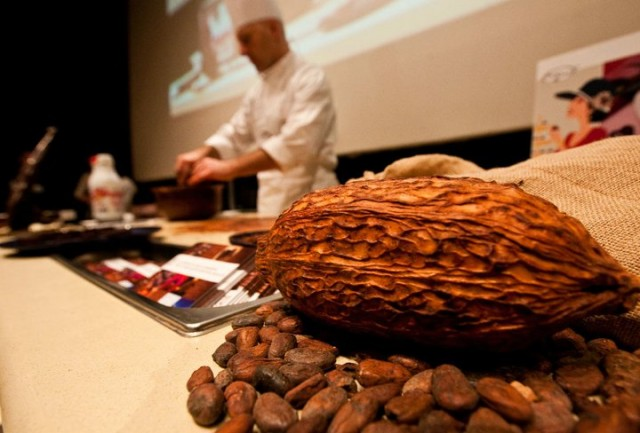 Showcooking Eurochocolate