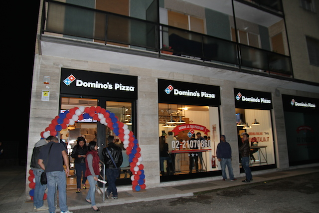 Domino's pizza, Milano
