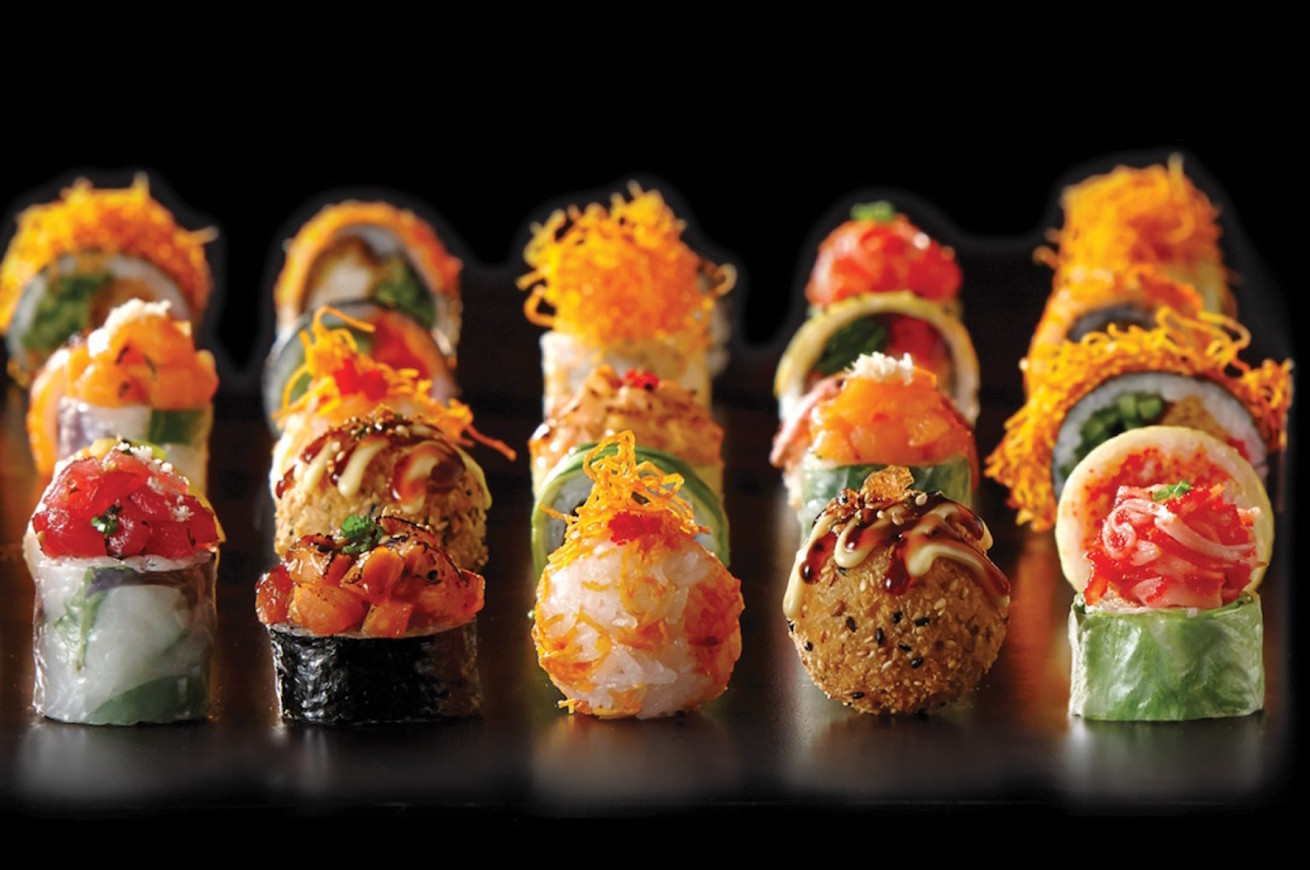 sushi, delivery food