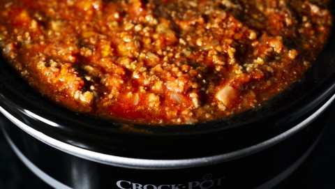 crock pot, ragù