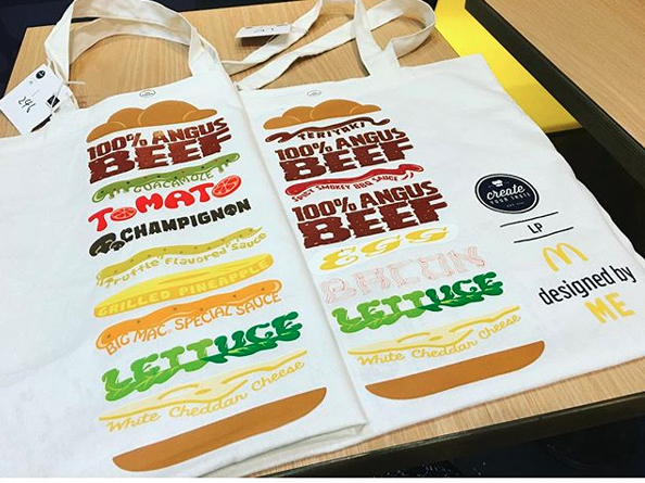 mcdonald's shopping bag
