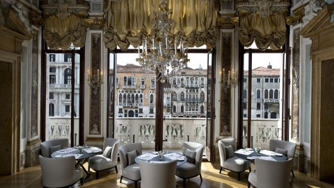 Canal Grande Venice - Piano Nobile Dining Room