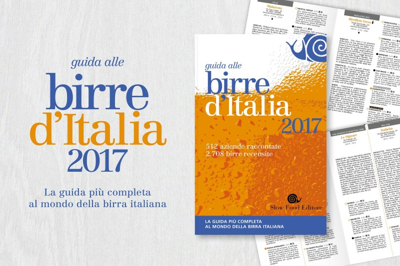 birre d'Italia 2017, slow food
