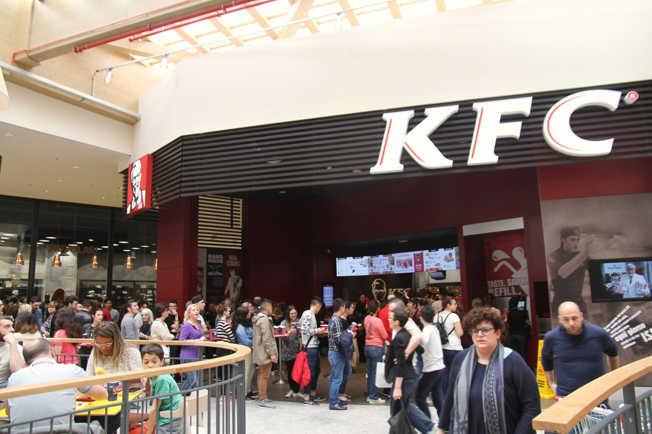 KFC, Kentucky Fried Chicken, Arese, centro commerciale