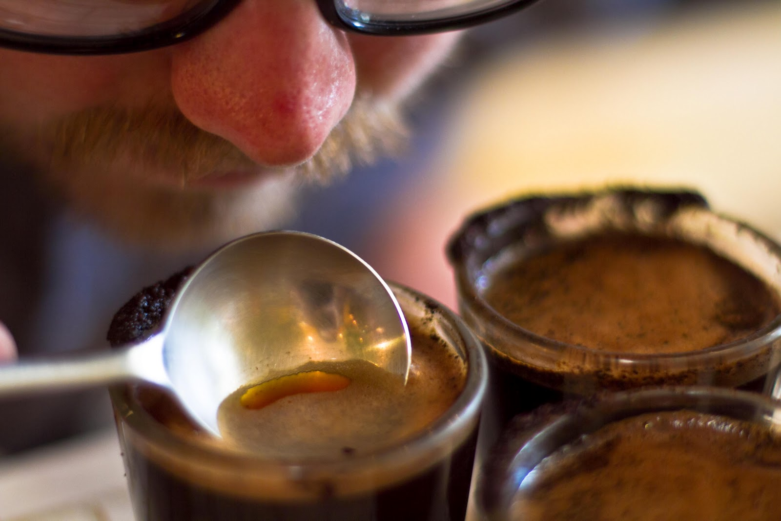 Cupping; specialty coffee