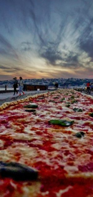 pizza, guinness world record
