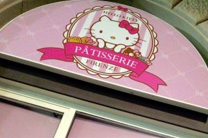 hello kitty, pasticceria firenze