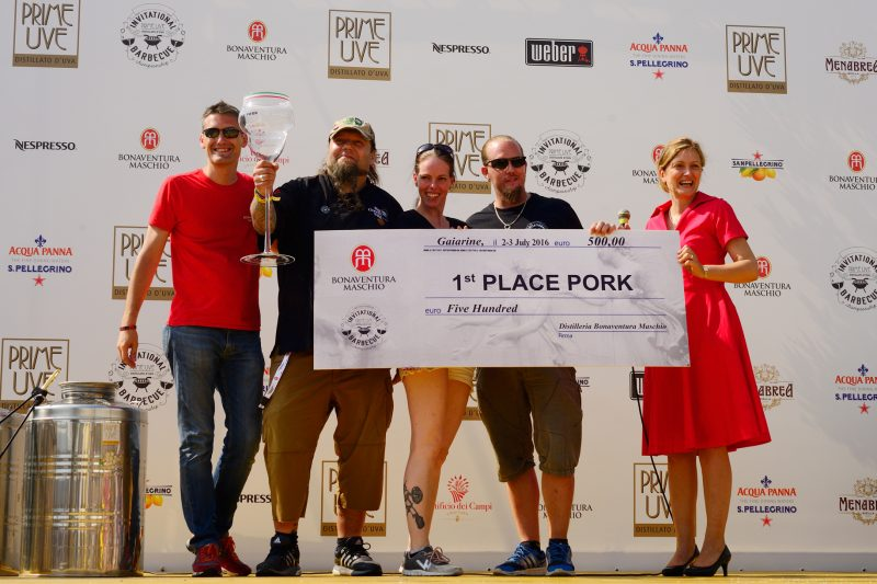 pork-1 posto-flamin pig-team-Prime Uve Invitational Barbecue Championship
