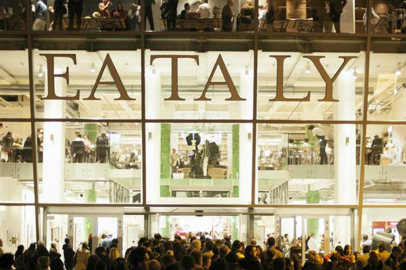 Il nuovo Eataly al World Trade Center sta andando molto bene